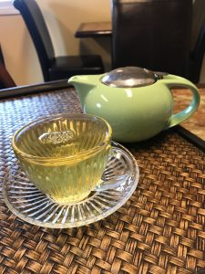 Japanese Sencha Cup and Pot